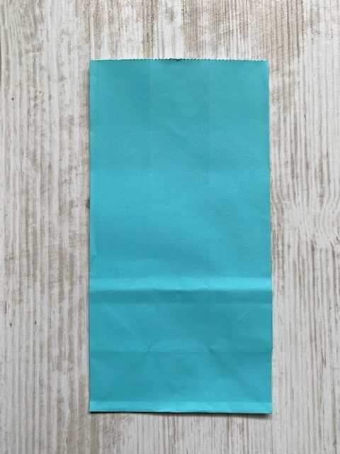blokbodemzakje turquoise