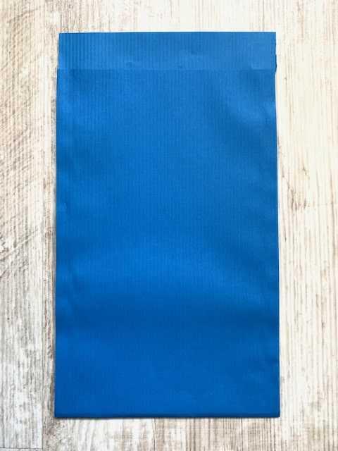 cadeauzakje blauw