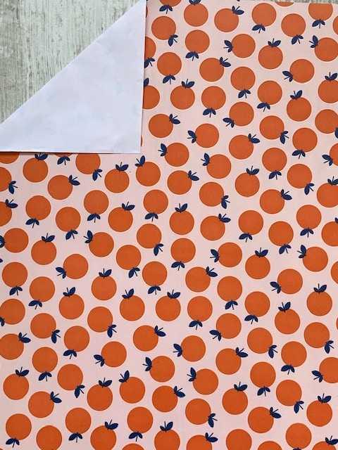 inpakpapier naranja