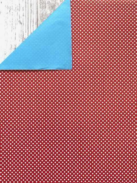 inpakpapier polkadot rood