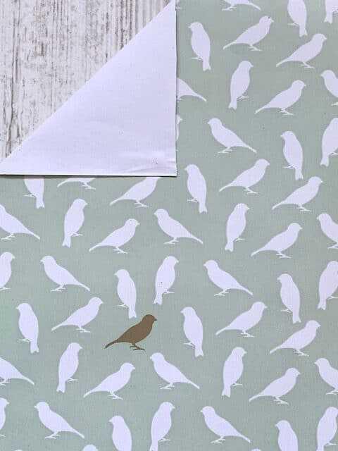 Inpakpapier Gouden Vogel