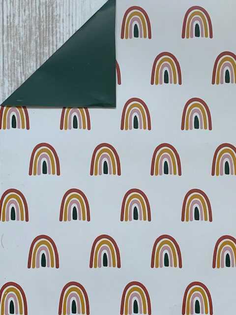 Inpakpapier Regenboog