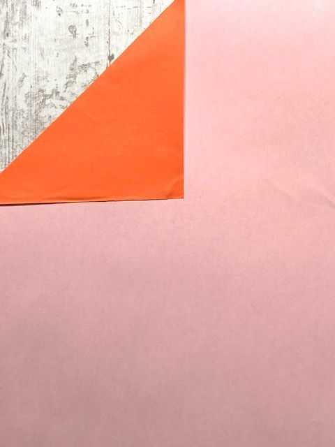 Inpakpapier Lichtroze/Oranje